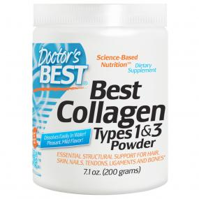 Doctor's Best Collagen Types 1 & 3 Powder 200 g