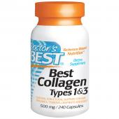 Doctor's best best Collagen types 1 & 3 500 mg 240 caps