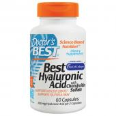 Doctor's Best  Best Hyaluronic Acid, with Chondroitin Sulfate, 60 Caps