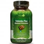 Irwin Naturals Yohimbe-Plus Maximum Performance 100 Liquid Soft-Gels