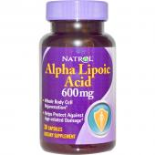 Natrol Alpha Lipoic Acid 600 mg 30 caps