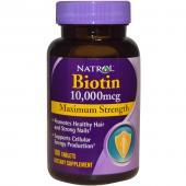 Natrol Biotin 10.000 (10000) mcg 100 tab
