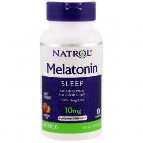 Natrol Melatonin Fast Dissolve Strawberry 10 mg 60 tab