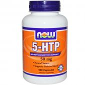 Now Foods 5-HTP 50 mg 180 caps