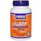 Now Foods 5-Htp 200 mg with Glycine Taurine Inositol 120 caps