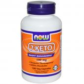 Now Foods 7-KETO 100 mg 120  vcaps
