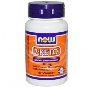 Now Foods 7-KETO 100 mg 60 vcaps