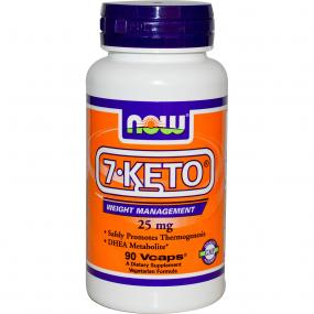 Now Foods 7-KETO 25 mg 90 vcaps