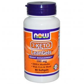 Now Foods 7-KETO 100 mg 60 soft