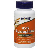 Now Foods Acidophilus 4 X 6 120 vcaps