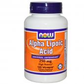 Now Foods Alpha Lipoic Acid 250 mg 120 vcaps