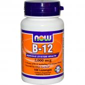 Now Foods B-12 2000 mcg 100 lozenges