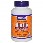Now Foods Biotin 10 000 mcg 120 caps