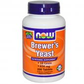 Now Foods Brewer's Yeast 650 mg 200 tab