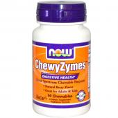 Now Foods ChewyZymes Natural Berry Flavor 90 Chewables