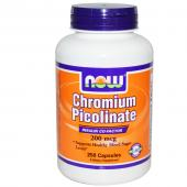 Now Foods Chromium Picolinate 200 mcg 250 caps