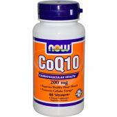 Now Foods CoQ10 200 mg 60 caps