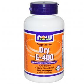 Now Foods Dry E 400 IU 100 vcaps