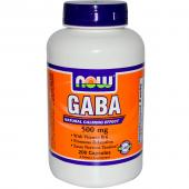 Now Foods Gaba 500 mg 200 caps