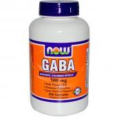 Now Foods Gaba 500 mg 200 caps