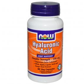 Now Foods Hyaluronic Acid 100 mg with Alpha Lipoic Acid 60 vcaps