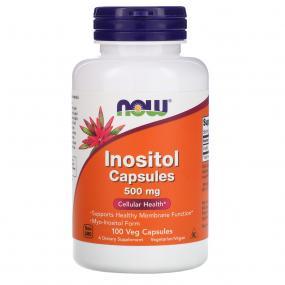 Now Foods Inositol 500 mg 100 caps