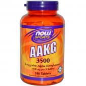 Now AAKG 3500 mg 180 tabs