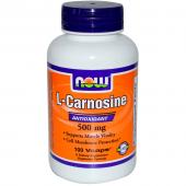 Now Foods L-Carnosine 500 mg 100 vcaps