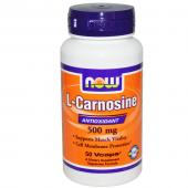 Now Foods L-Carnosine 500 mg 50 vcaps