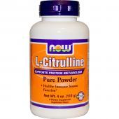 Now Foods  L-Citrulline Pure Powder 113 g