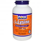 Now Foods L-Lysine 500 mg 250 tabs