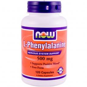 Now Foods L-Phenylalanine 500 mg 120 caps