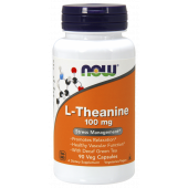 Now Foods L-Theanine 100 mg 90 caps