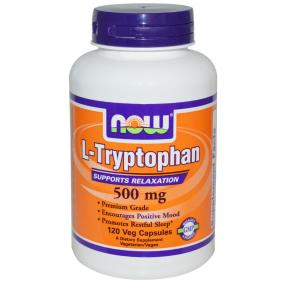 Now Foods L-Tryptophan 500 mg 120 vcaps
