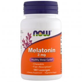 Now Foods Melatonin 3 mg 180 Lozenges
