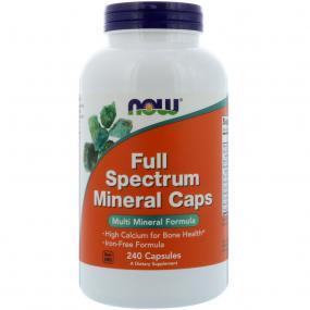 Now Foods Full Spectrum Mineral 240 caps
