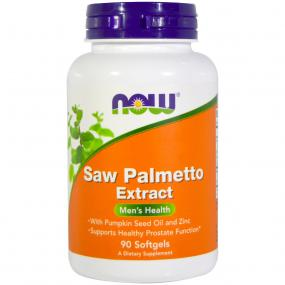 Now Foods Saw Palmetto Extract 90 softgels