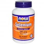 Now Foods Selenium 200 mcg 180 vcaps