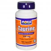 Now Foods Taurine 500 mg 100 caps