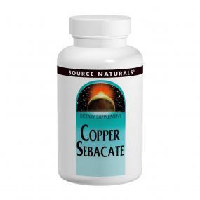 Source Naturals Copper Sebacate 22 mg 120 tab